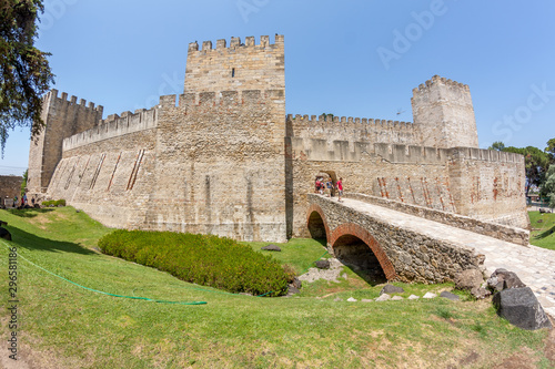 Canvas Print Old castle