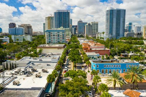 Wallpaper Mural Downtown Fort Lauderdale FL Las Olas Boulevard