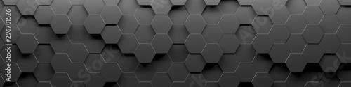 Abstrakcyjna geometryczna pętla powierzchni sześciokąta 1A: jasny jasny czysty minimalny sześciokątny wzór siatki, losowe machanie płótnem tła ruchu w czystej ścianie architektonicznej bieli.
