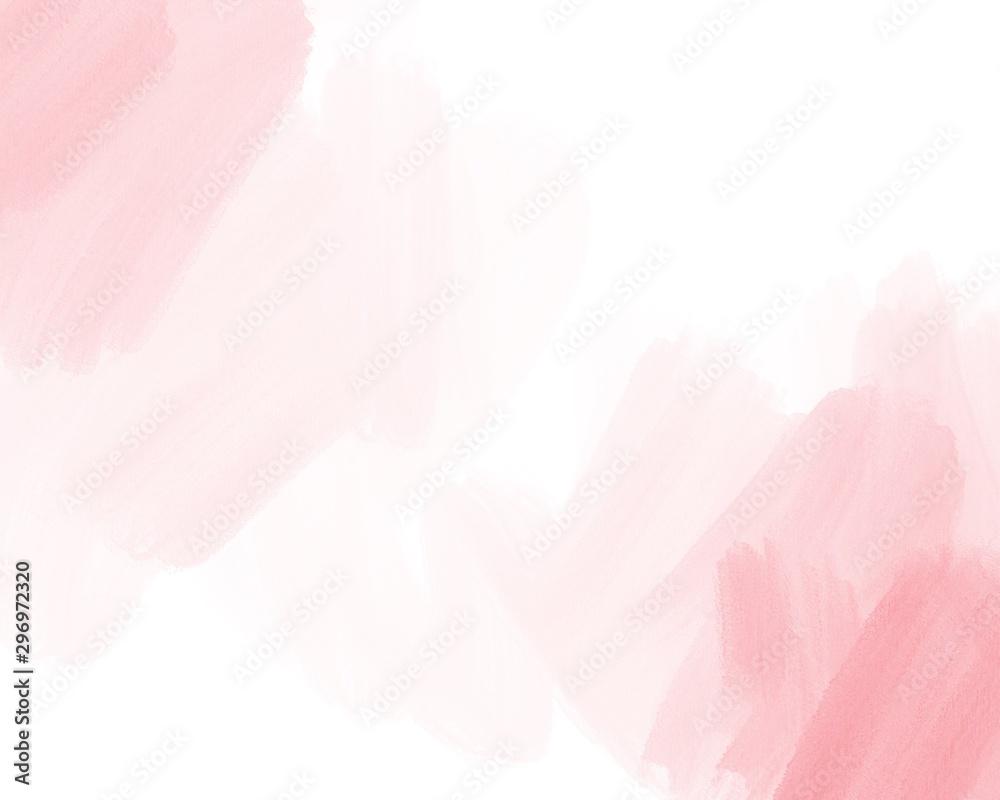Kolor wody, różowe, białe tło, używane jako tło do ślubu i innych zadań. <span>plik: #296972320   autor: Sansert</span>