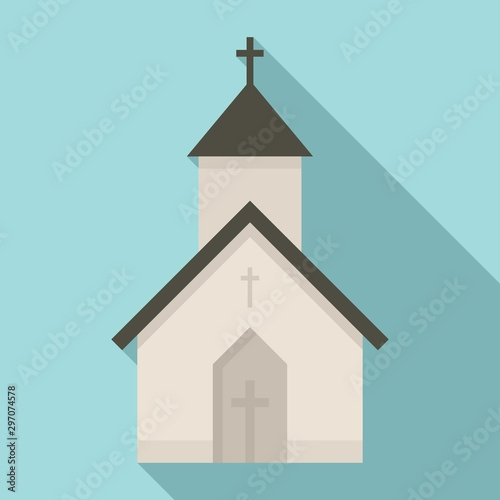 Obraz na plátne Rural church icon