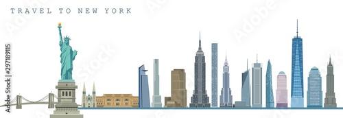 Fotografia New York city skyline