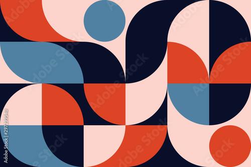 Grafika abstrakcyjna wzór geometryczny