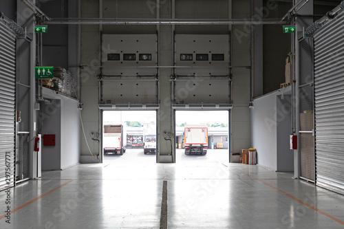 Interior Distribution Warehouse Fototapet