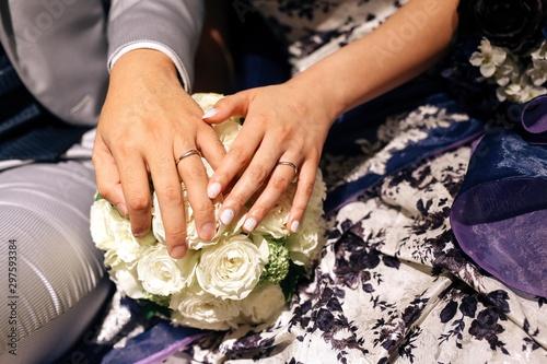 Photo 夫婦の手