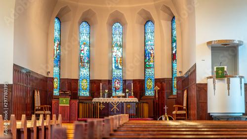 Fotografia interior of the church