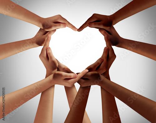 Fotografie, Obraz Racial Love