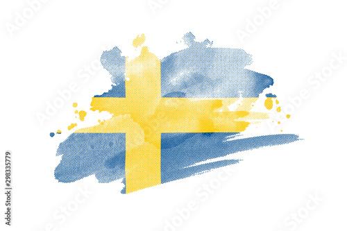 Wallpaper Mural National flag of Sweden