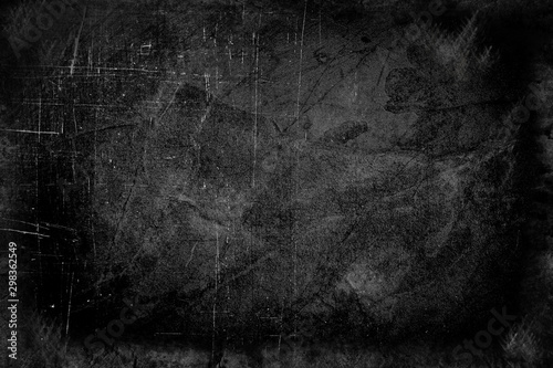 Naklejki na meble Brudna kamienna powierzchnia pokryta zadrapaniami
