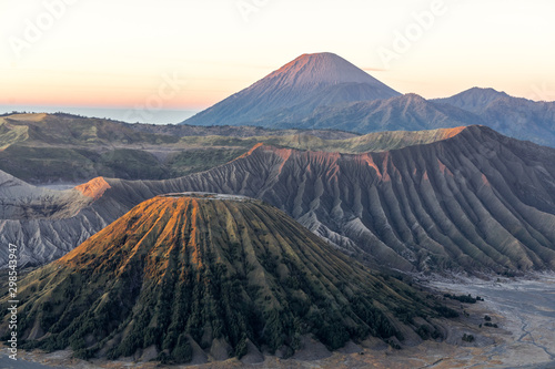 Canvas Print Bromo Volcano Group Is a natural tourist attraction with beautiful scenery Is in