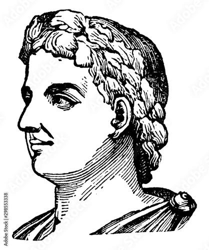 Fotografia Alexander Severus, vintage illustration