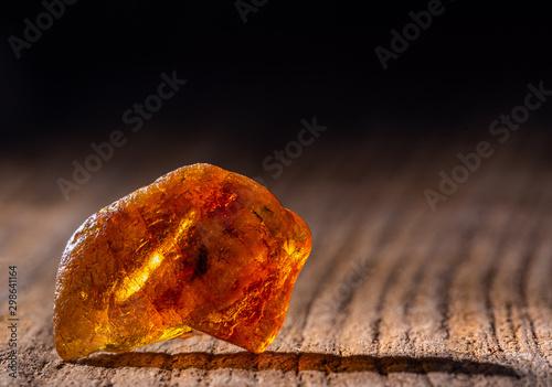 Natural amber Fototapet