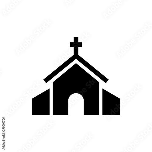 Fotografia Church building icon