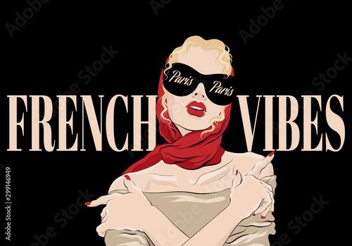 Fototapeta French vibes