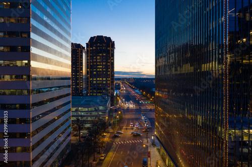 Richmond VA Downtown Skyline Fototapeta