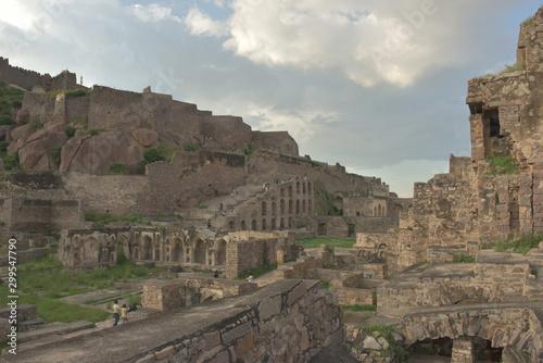 фотография Golconda fort, Hyderabad, Telangana, India