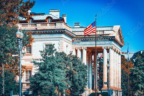 Valokuva Washington, USA, urban cityscape of the city.Constitution Hall.