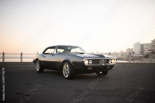 Fotografie, Obraz Muscle car 1967 front view