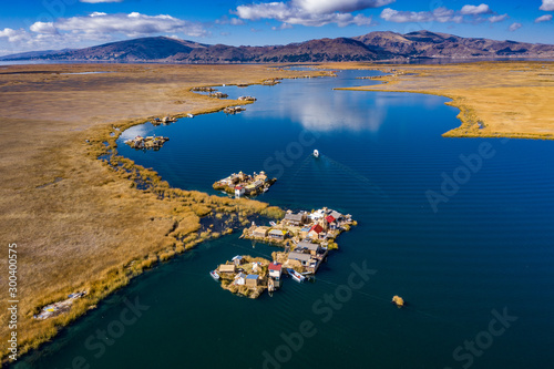 Photographie peru puno titicaca lake uros islands