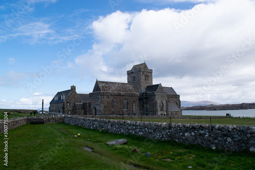 Obraz na plátne Iona abbey in Scotland