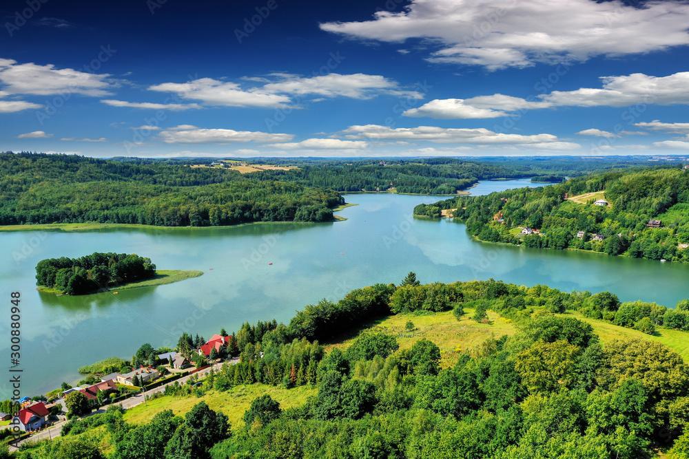 Kaszuby-jezioro Ostrzyckie <span>plik: #300880948 | autor: Janusz Lipiński</span>