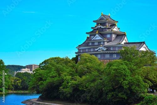 Tela 晴天の岡山城