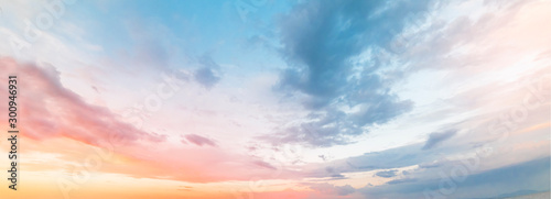Photo Beautiful sunset sky. Nature sky backgrounds.
