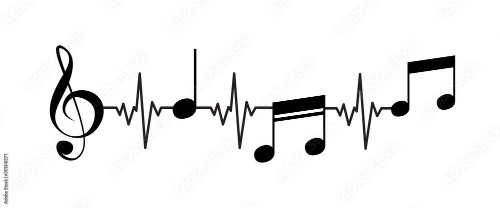 Life is music concept art. <span>plik: #301341571   autor: Marina</span>