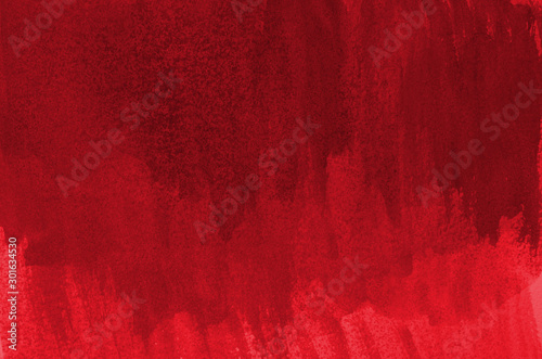 Abstract red background in watercolor style Fototapet