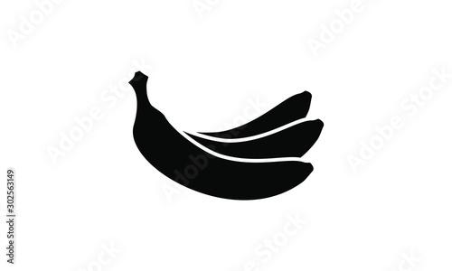 Fotografía banana icon vector