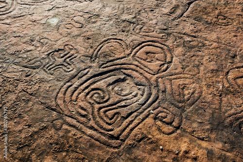 Wallpaper Mural Rock paintings of ancient civilizations