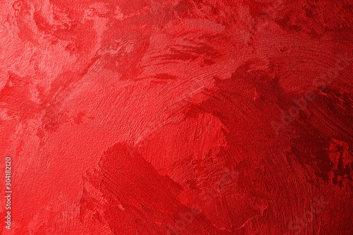 Fotografie, Tablou Texture of red wall
