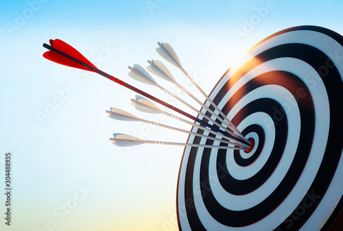 Achieve Goals - Success Fotobehang