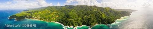 Photo Beautiful tropical Barbados island