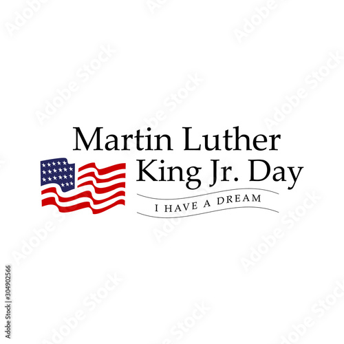 Canvas-taulu Martin luther king jr