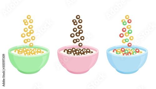 Photo Cereal breakfast