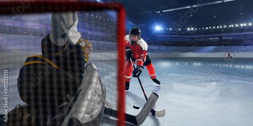 Photo Ice hockey.