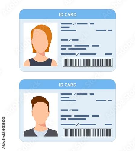 Fotografía Id card