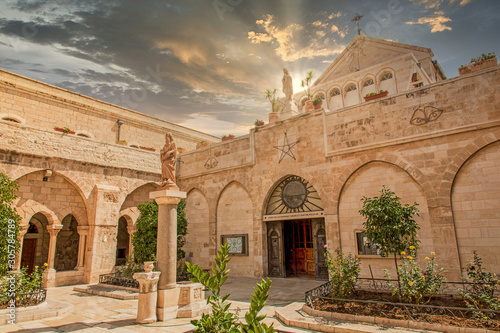 Foto The Church of the Nativity in Bethlehem