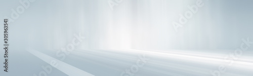 panorama white and gray empty room studio gradient used for background and display your product