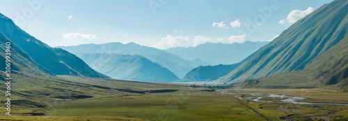 Fotografie, Obraz Mountains of Georgia