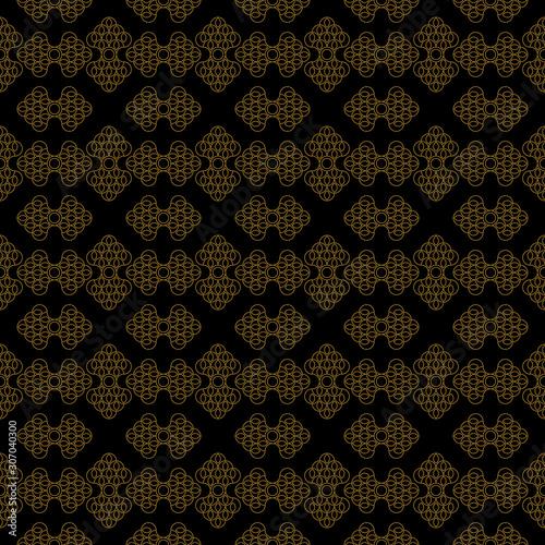 Fototapeta Luxurious floral pattern