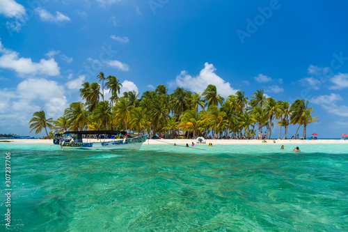 Stampa su Tela San Blas island beach