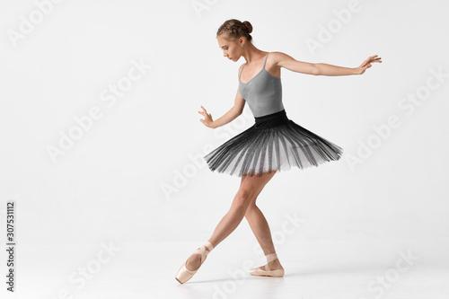Valokuvatapetti ballet dancer in rehearsal