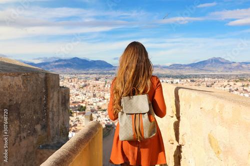 Tourism in Alicante, Spain Fototapete