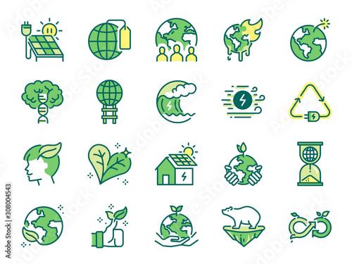 Photo Ecology icon set