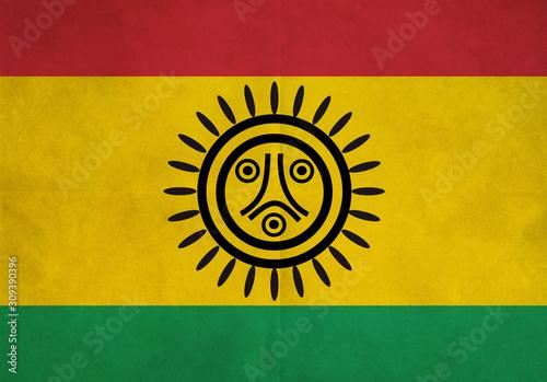 Canvas Print Taino Flag