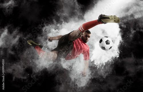 Fotografia Soccer player in action