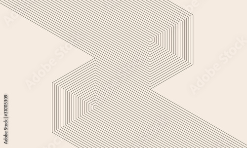 abstract art lines background. monochrome stripes