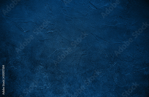 Stone texture toned classic blue color